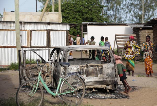 Overnight attack on Kenyan coastal town