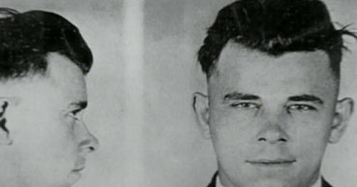 On The Trail Of John Dillinger Cbs News