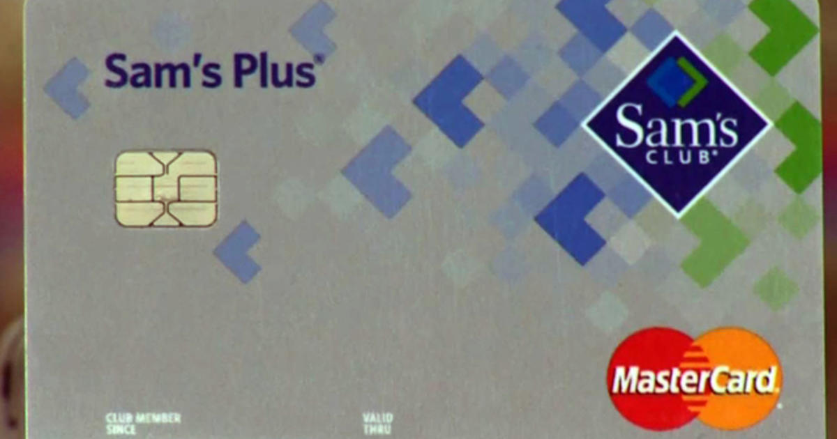 Sams Credit Login >> Sam S Club Offers Chip Card To Prevent Fraud Cbs News