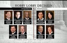 SCOTUS exempts Hobby Lobby from covering birth control in health plans