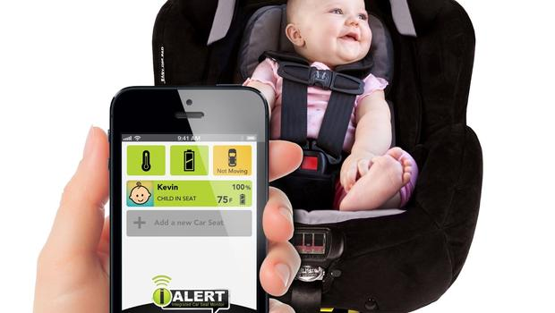 Tomy The First Years True Fit IAlert C685 Tech Car Seat
