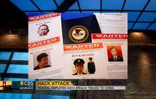 Chinese hackers attack federal employee database