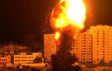Watch: Gaza rocket impact