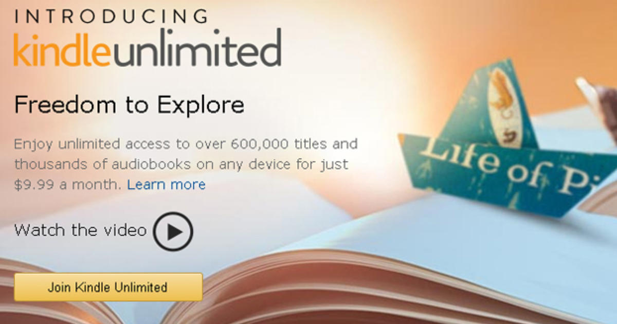kindle unlimited subscription deal