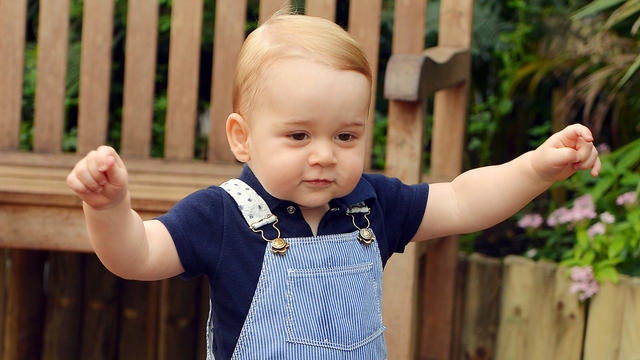 Latest news of prince george alexander louis