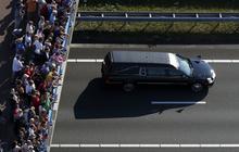 Plane crash victims come home
