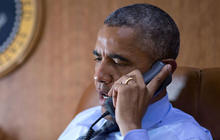 Is fundraising interfering with President Obama's duties?