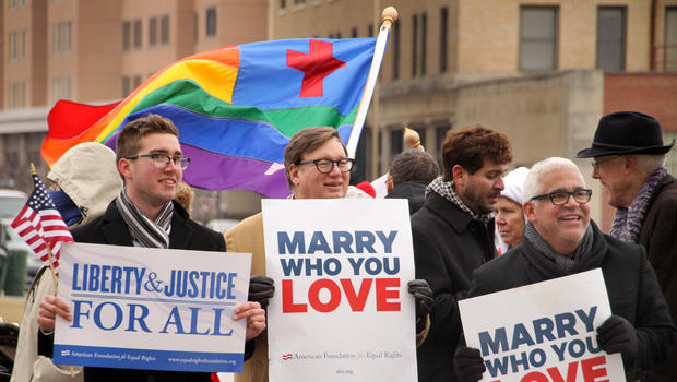 Ban on same sex marriage unconstitutional