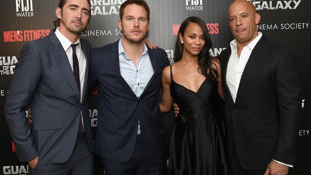 """""""Guardians of the Galaxy"""" NYC premiere"""