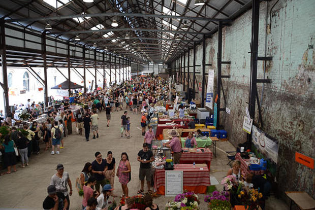 Eveleigh Farmers Market, Sydney