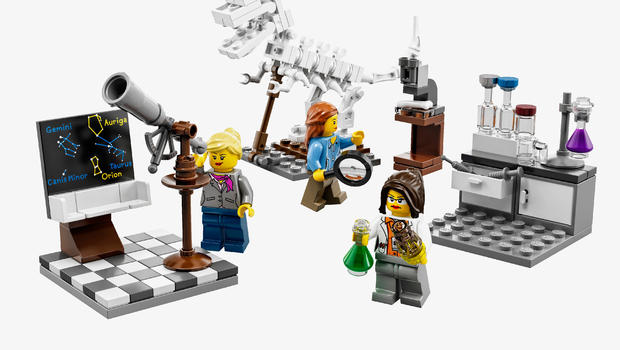 Why Legos First Female Scientist Kit Is Selling Out Cbs News