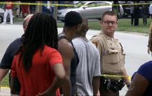 Protestors confront police after unarmed teen shot