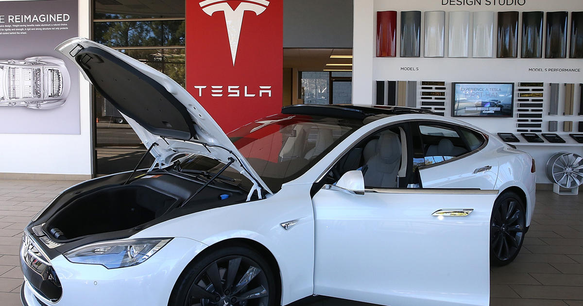 Consumer Reports Tesla Model S Has Problems Cbs News