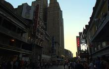 Broadway lights dim for Robin Williams