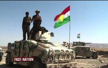 Aided by U.S. airstrikes, Kurdish forces push back on ISIS