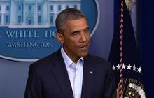 "Obama: Iraq has made ""major step"" toward reclaiming control of Mosul Dam"