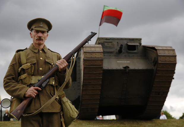 Alter egos: World War I re-enactors