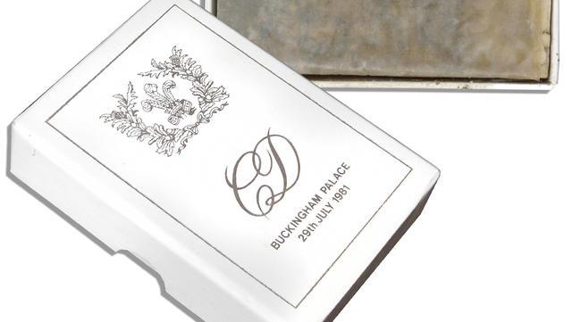 slice of princess diana s wedding cake auctioned cbs news cbs news