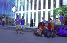 Who are those people lining up for the iPhone 6?