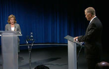 North Carolina Senate candidates clash in first televised debate