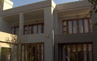 A rare look inside Oscar Pistorius' former home