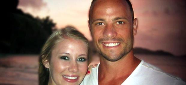 Samantha taylor and Oscar Pistorius