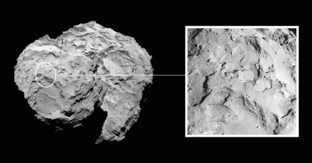 This is what a comet smells like (and it's not good) - CBS News