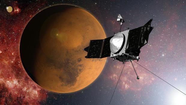 NASA's Maven spacecraft reaches Mars this weekend - CBS News