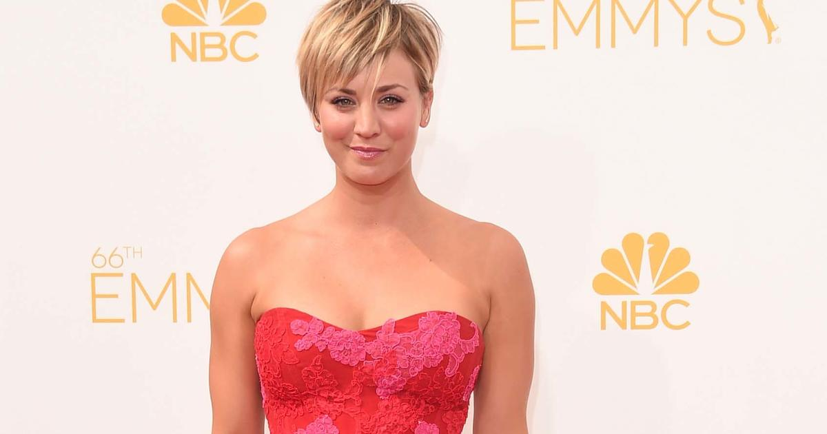 Kaley Cuoco Cringes Over Old Big Bang Theory Episodes Cbs News