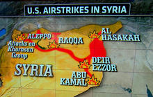 U.S. and Arab allies launch new attacks against ISIS