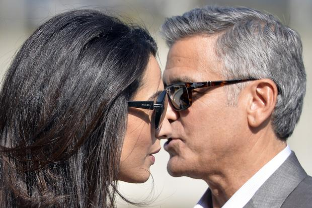 George Clooney and Amal Alamuddin's wedding