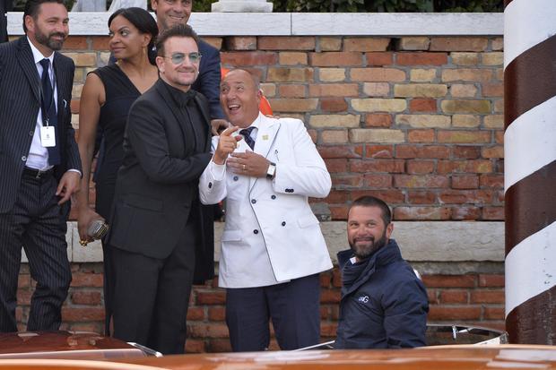 Stars at George Clooney's wedding