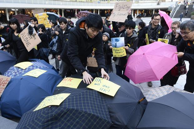 World shows support for Hong Kong protests