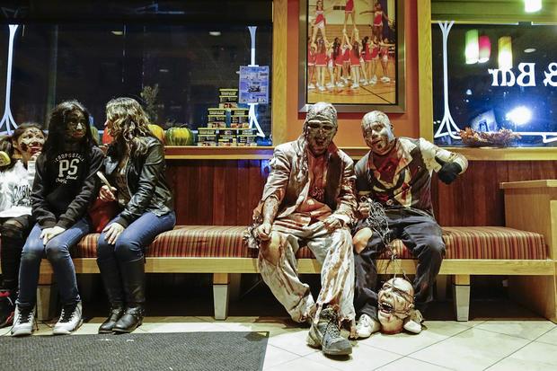 Zombies hit the beach in N.J.