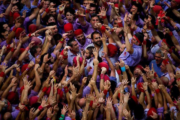 """Spain's """"Castellers"""""""