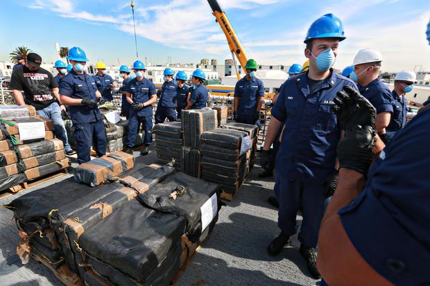 Officials: $423 million of cocaine seized