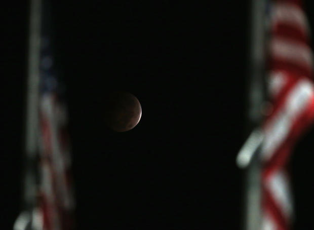 October's blood moon eclipse