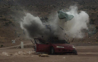 """""""48 Hours"""" behind the scenes: How to film a car bombing"""
