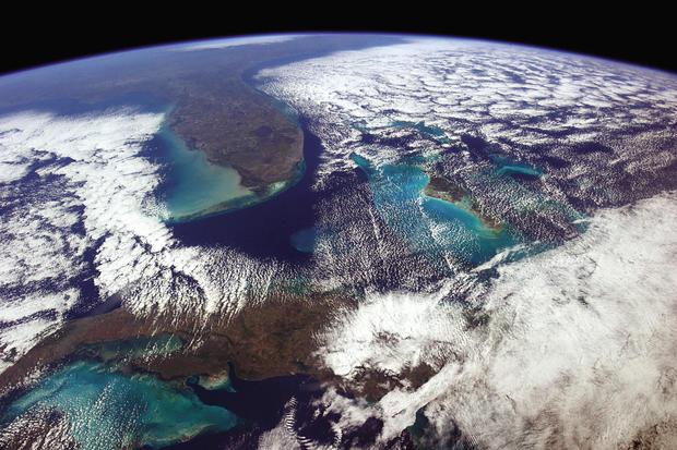 One astronaut's interstellar view