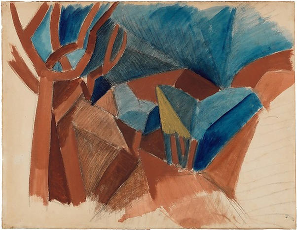 Four Cubist masters at the Met