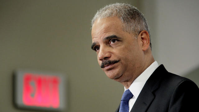 Attorney General Eric Holder speaks at the 44th Annual Congressional Black Caucus legislative conference Sept. 26, 2014, in Washington.