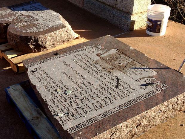 oklahoma Ten Commandments monument