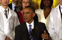 "Obama: U.S. can't ""hermetically seal"" itself off from Ebola"