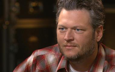 "Blake and Miranda's inspiration for ""Over You"""