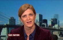 "Samantha Power sees ""positive signs"" in the fight against Ebola"