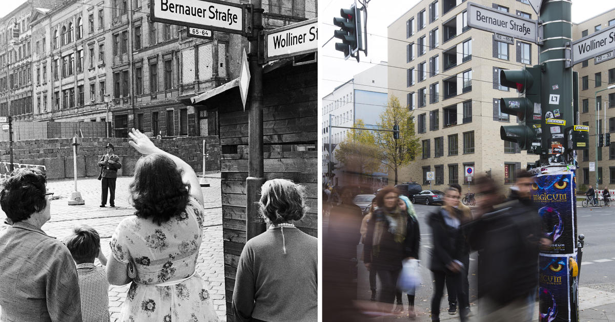 Berlin Wall - Now and Then - CBS News
