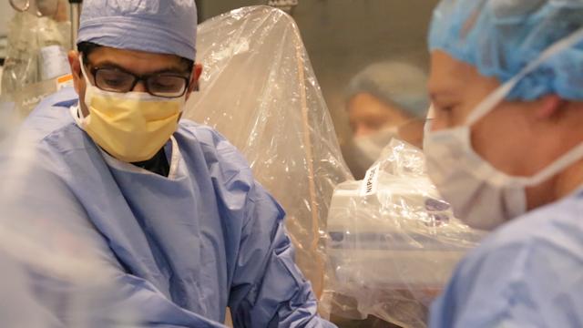 TAVR heart valve replacement procedure