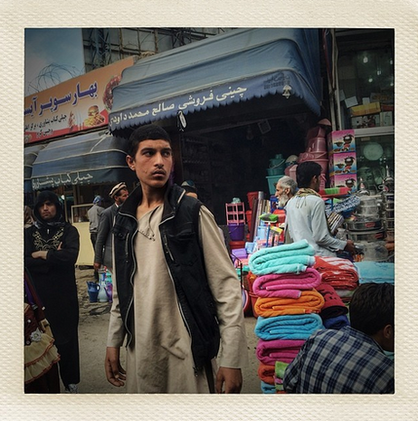 Afghanistan by iPhone