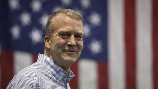 Republican Senate candidate Dan Sullivan