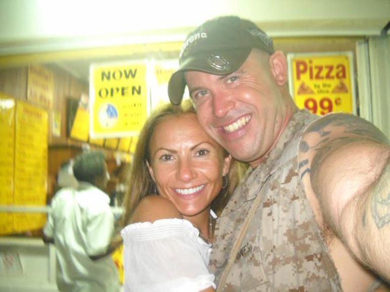 Yvonne Baldelli and Brian Brimager